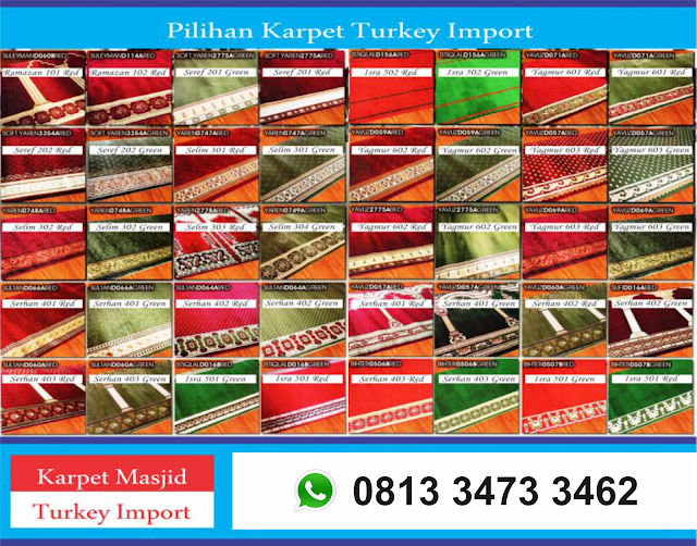 Pilihan Karpet Masjid Turkey Import