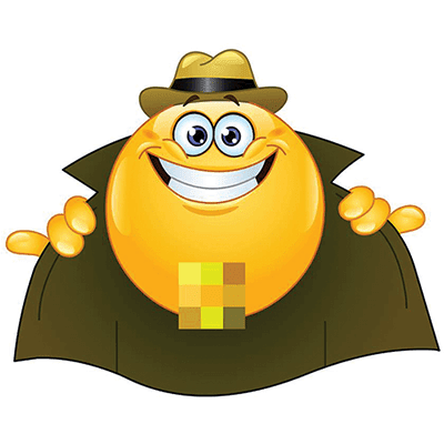Flasher emoji