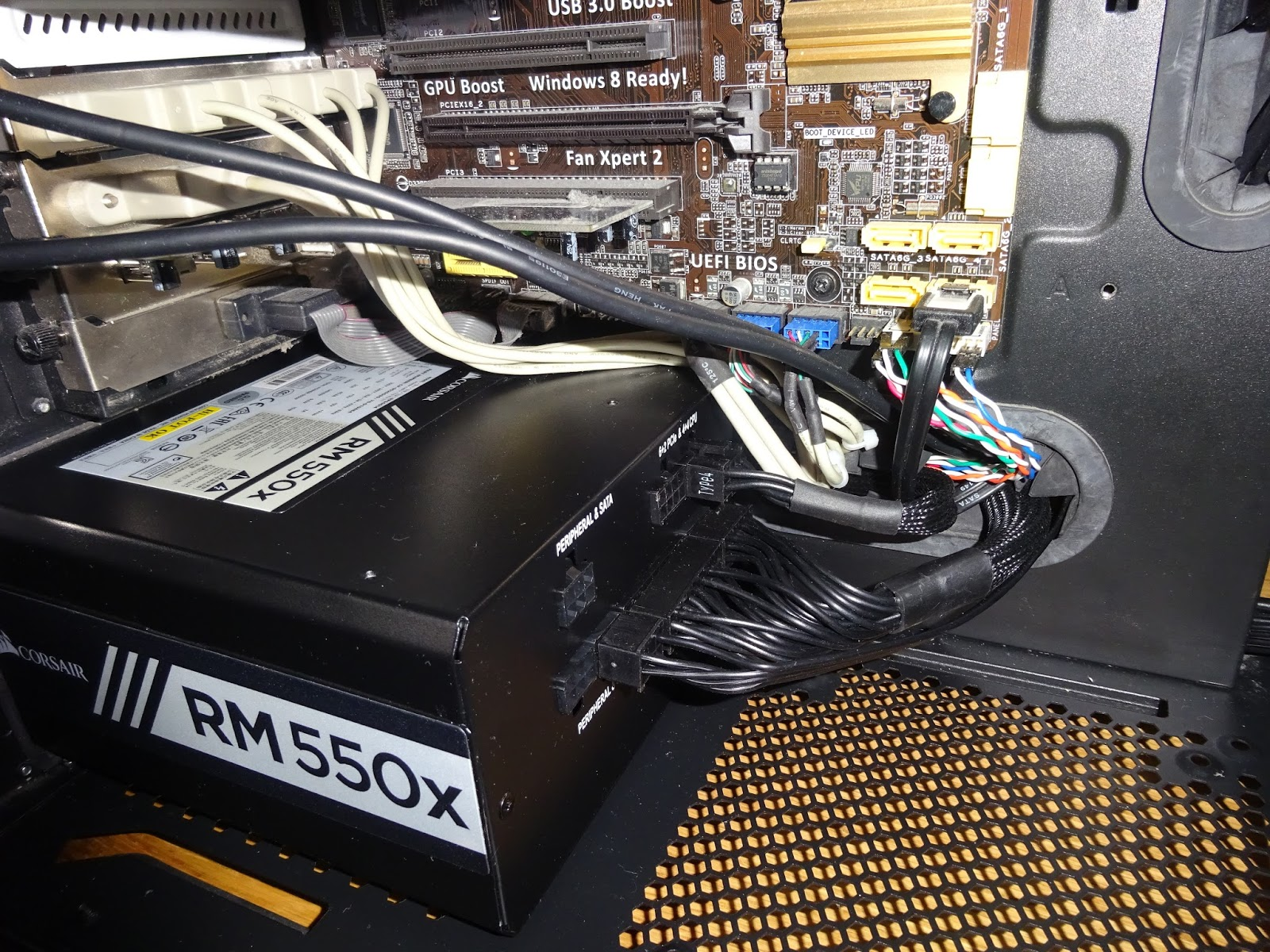 Tynemouth Software Reverse Pc Build Do Not Need Want The Fan Kill Switch To Be Illuminated When I Have Replaced With A Corsair Rm550x This Is Still More Power Than Installed System Needs But Key Point It Will Only On Its