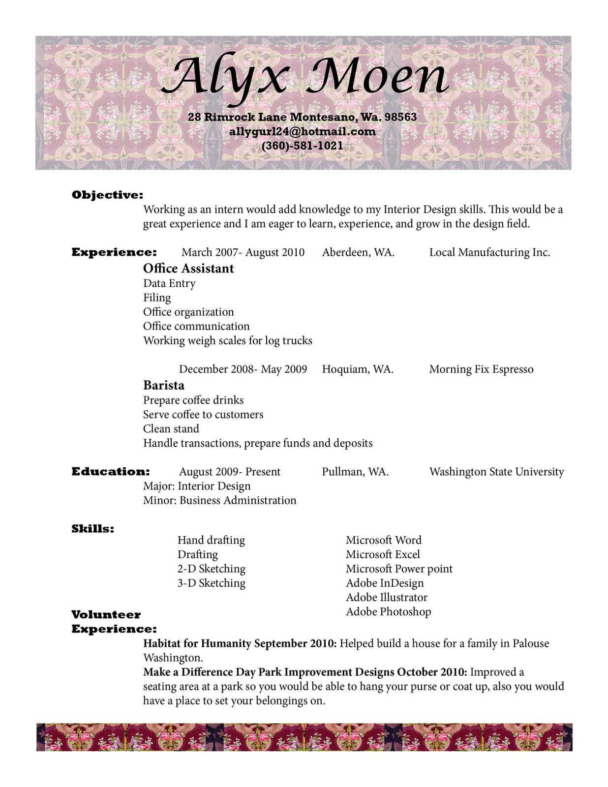 Create Professional Resume Common Text Essay Contest For Clybourne Park Messina