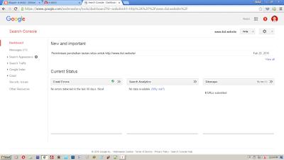 Cara Profesional Mendaftarkan Blog ke Webmaster Tool