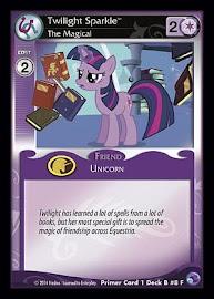 My Little Pony Twilight Sparkle, The Magical Primer Deck CCG Card
