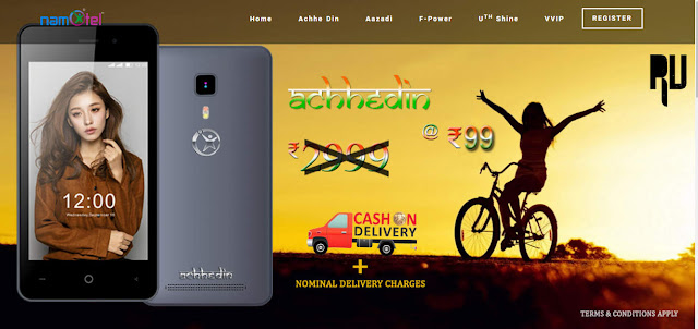Order-Namotel-99-rs-Android-Achhe-din-smartphone-Online