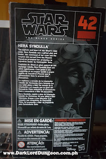 Star Wars Black Series Hera Syndulla Action Figure Box