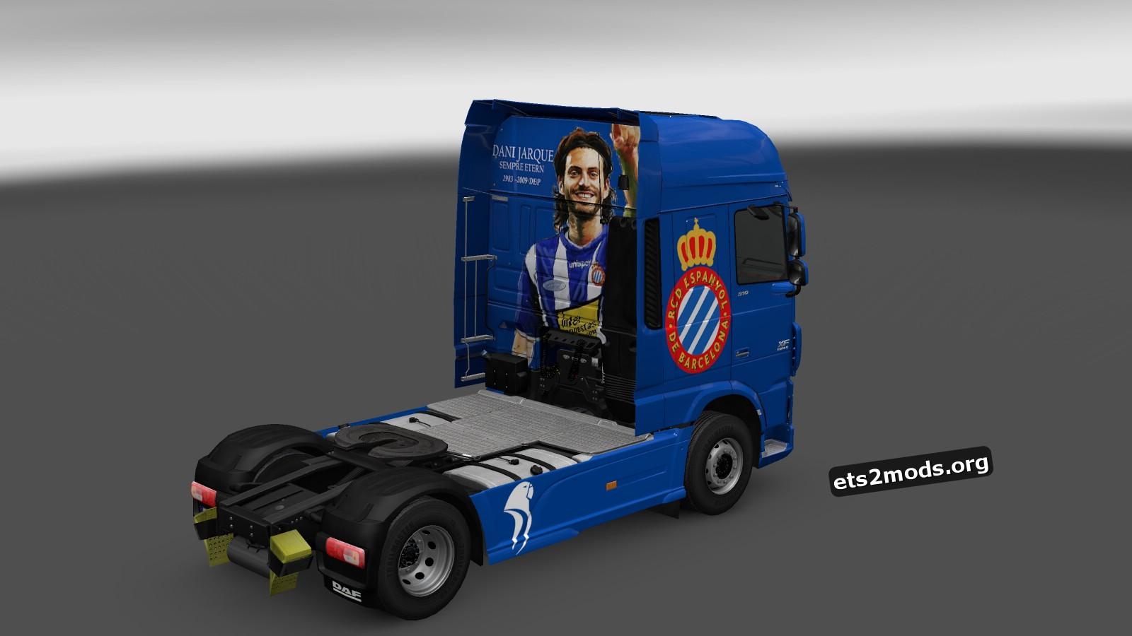 RCD Espanyol FC Skin for DAF Euro 6