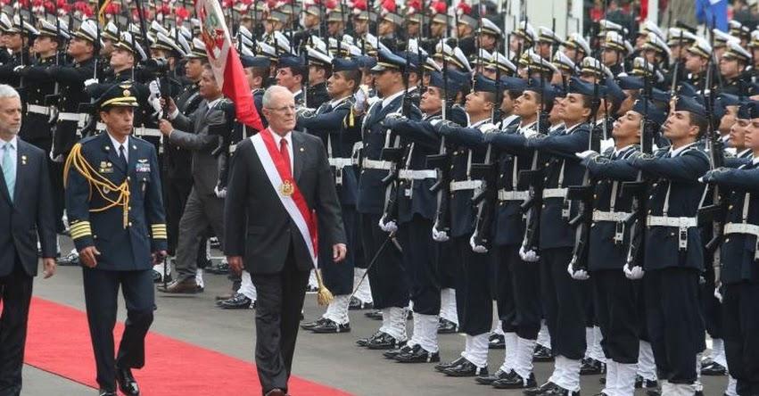 PROGRAMACIÓN FIESTAS PATRIAS: Estas son las actividades del Presidente Kuczynski por el 196° Aniversario de la Independencia del Perú