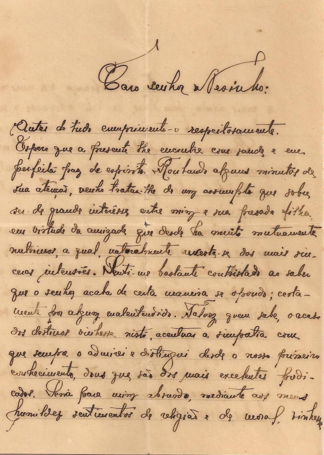 Jijo Wilian Mendes Ramos: Carta de Pedido de Noivado - Angola