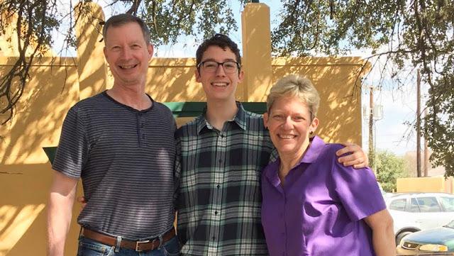 Reusch family at Trinity University