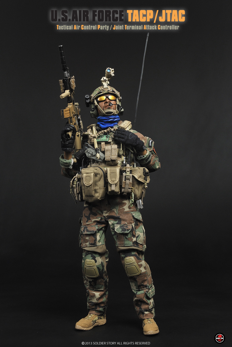 Pre Order Soldier Story 1 6 Scale U S Air Force Tacp
