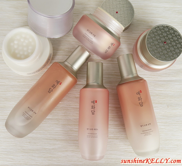 YEHWADAM Revitalizing Skincare Range Review