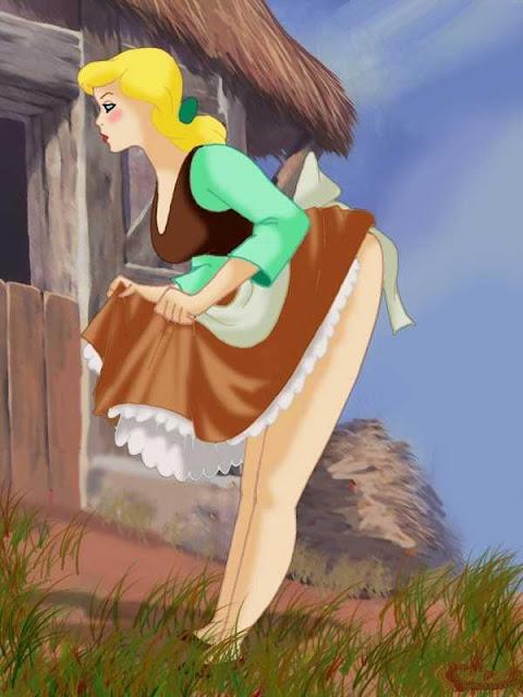 Ilustraciones desnudas de la princesa selenia