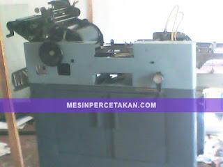 Multilith 1250 | Jual mesin cetak offset ukuran folio