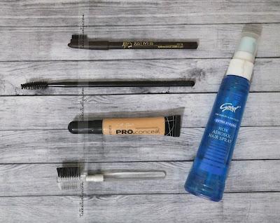alat dan bahan yang diperlukan untuk membuat DIY easy eyebrow fix