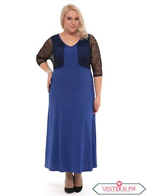 vestidos para gorditas de fiesta