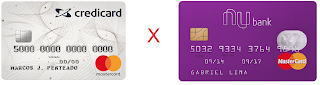 credicard zero x nubank