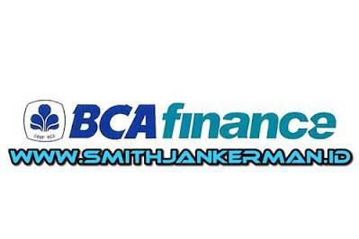 Lowongan PT. BCA Finance Pekanbaru Mei 2018