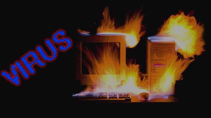 هل يمكن للفيروسات أن تقوم بحرق أجهزة الحاسوب | تجربة عملية بالفيديو - مدونة احمد شتا
