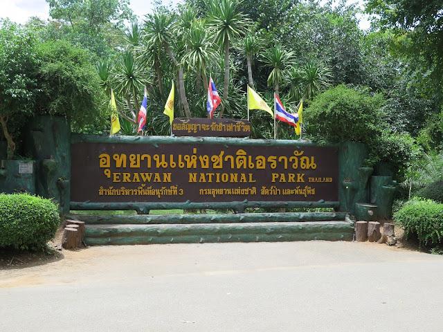 Erawan National Park - Kanchanaburi