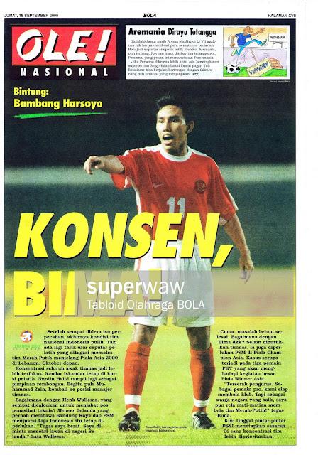 SEPAKBOLA NASIONAL BIMA SAKTI INDONESIA 2000
