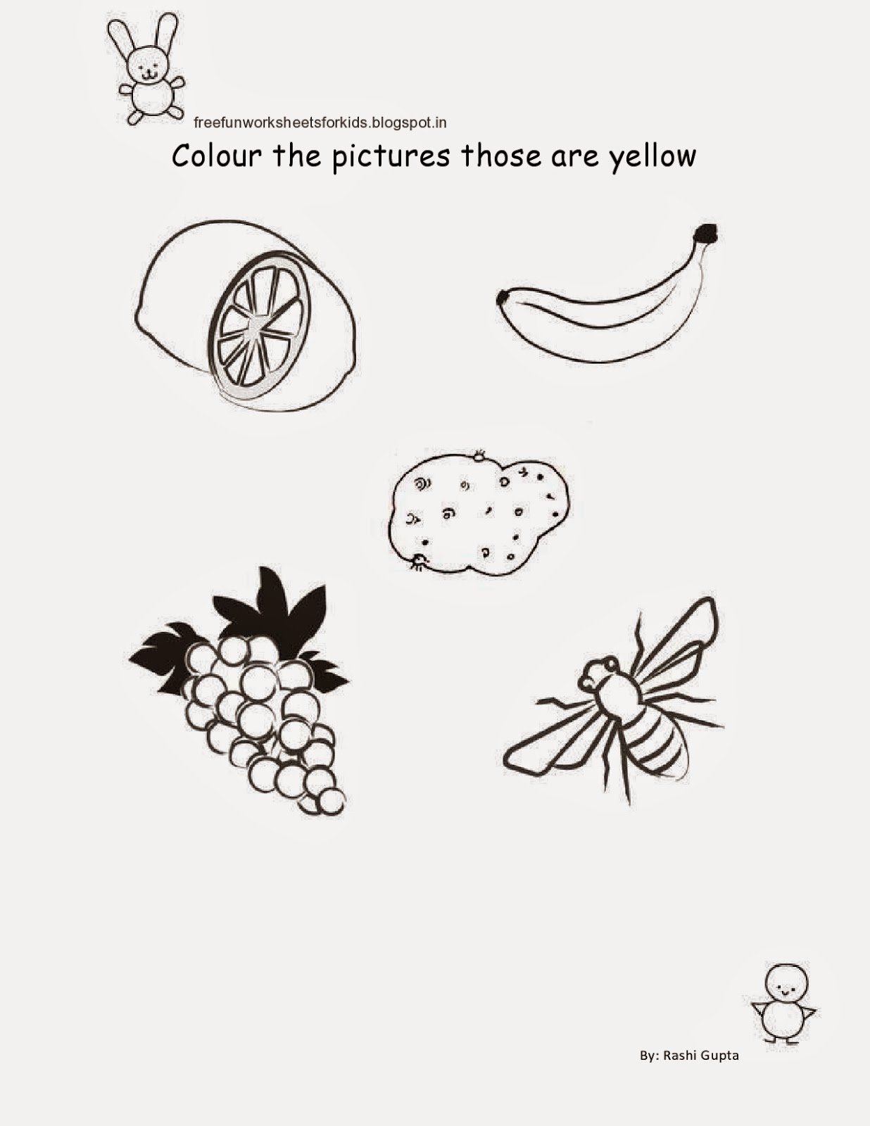 Free Fun Worksheets For Kids Free Printable Fun Worksheets For Class Nursery