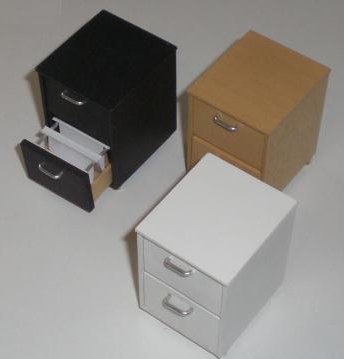 miniature file cabinets for dollhouse