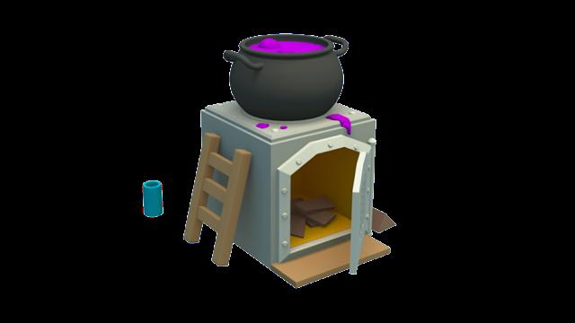 Fanart da Fornalha em 3D (Desenho + Animação) - 3