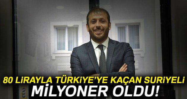 سوري لجأ إلى تركيا وبحوزته 80 ليرة وأصبح دخله الشهري مليون ليرة تركية!