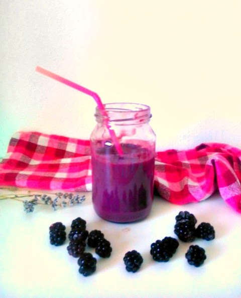 Simple Blackberry Smoothie