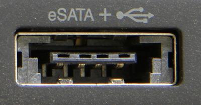PORT E-SATA SERIAL ADVANCED TECHNOLOGY ATTACHMENT