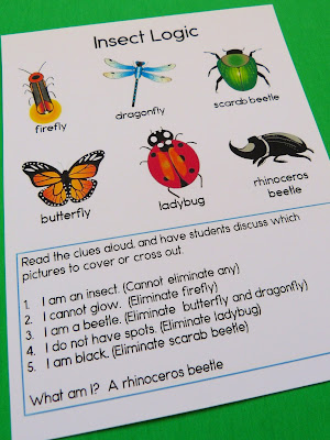 https://www.teacherspayteachers.com/Product/Insect-Logic-Puzzles-2510348