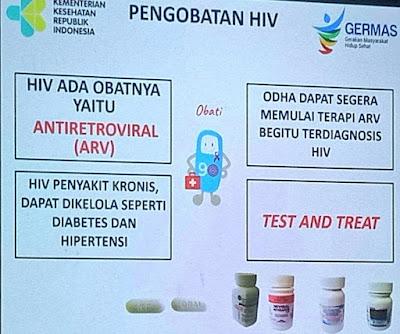 Saya berani Saya Sehat, Ada Obat Ada Jalan, ARV Obat HIV AIDS