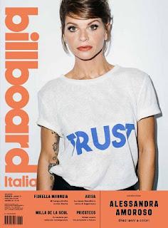 Cover Billboard maggio Alessandra Amoroso