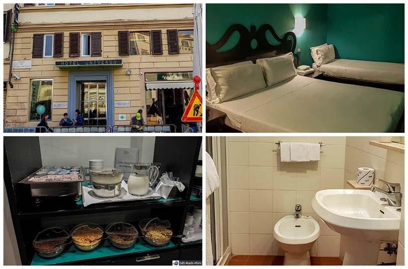 Hotel Universo  - Diário de bordo - 2 dias em Florença