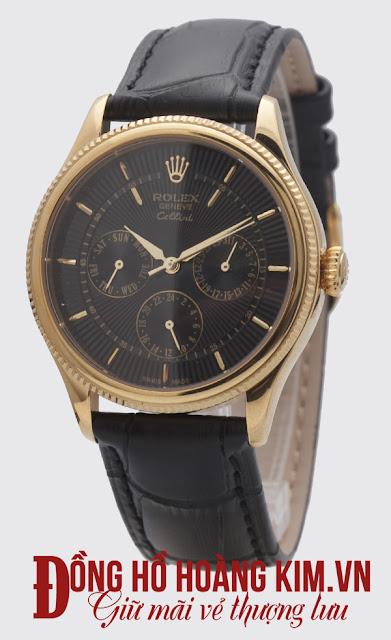 Đồng hồ rolex dây da nam R136