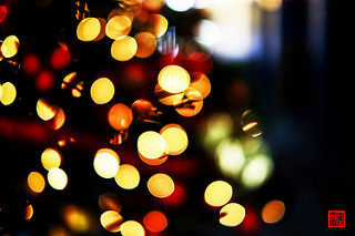 Luces de árbol de navidad