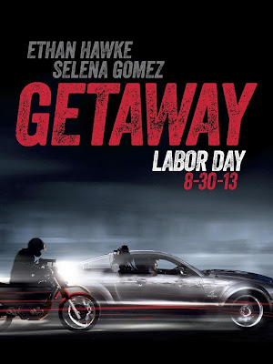 Poster Of Hollywood Film Getaway (2013) In 300MB Compressed Size PC Movie Free Download At worldfree4u.com