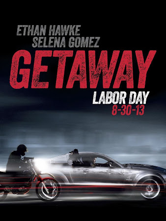 Poster Of Getaway 2013 In Hindi Bluray 720P Free Download