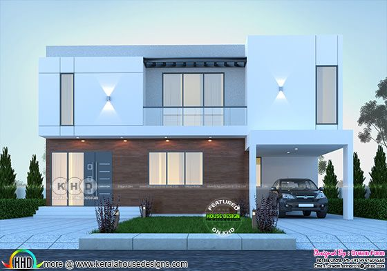 4 bedroom 2602 sq.ft contemporary home design