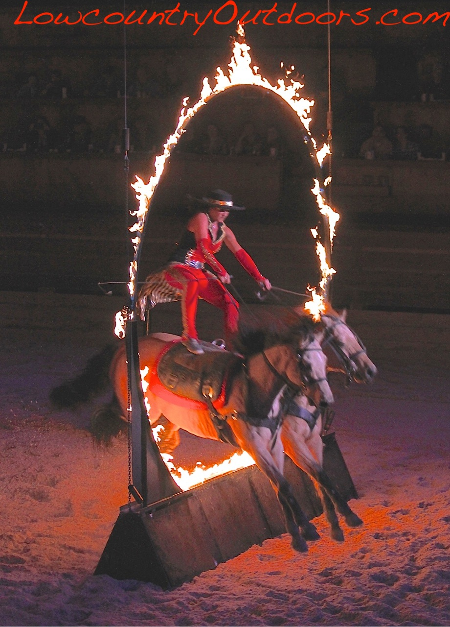 Lowcountry Outdoors Dixie Stampede Supper Show Pigeon Forge