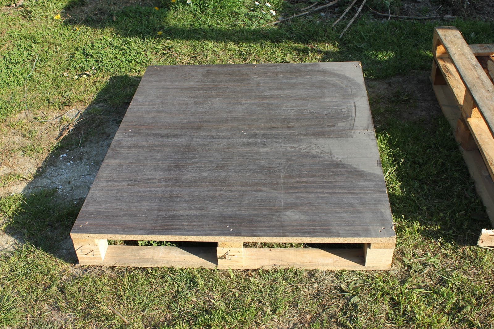 MDF topped pallet