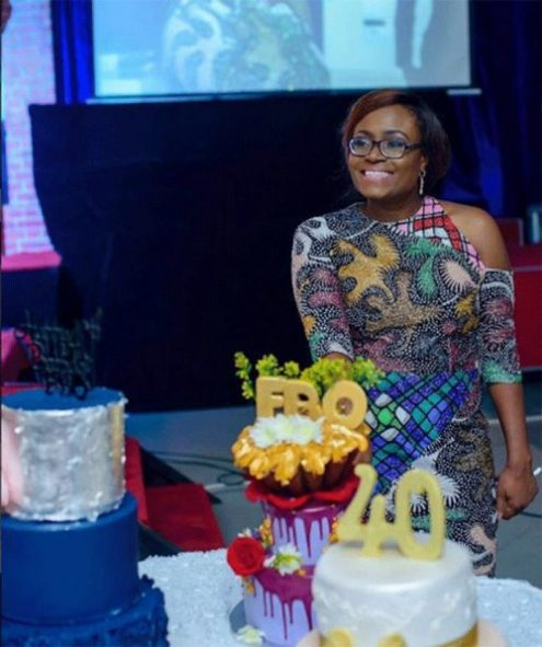 funke bucknor 40th birthday party