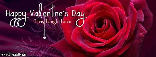 Valentine day, love valentine day, life love laugh valentine day facebook covers