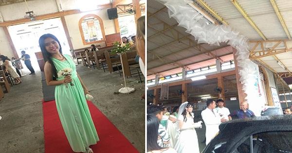 Netizens Laugh at 'Plastic Labo' Used in Php5k-Decor at Church Wedding