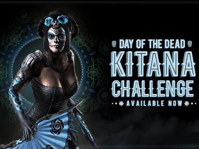Kitana Giorno dei Morti - Mortal Kombat X mobile