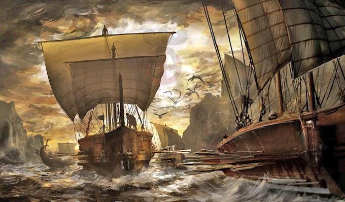Σαμποτάζ στο λιμάνι...!  387 π.Χ.