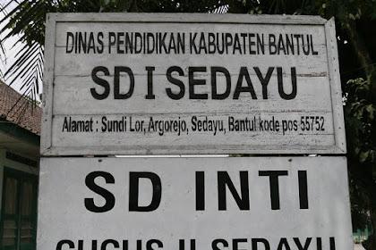 Profil Perpustakaan Sekolah SD Negeri 1 Sedayu, Desa Argorejo, Bantul Yogyakarta