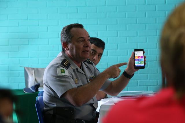 Aplicativo ajudará monitoramento nas escolas cívico-militares