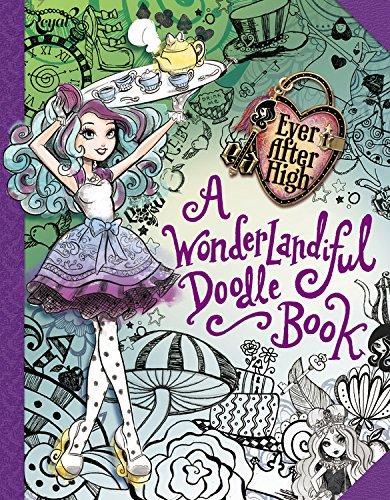 EAH A Wonderlandiful Doodle Book Media