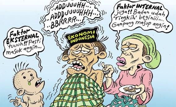 Buzzer Jokowi Dolar Naik Tidak Berpengaruh